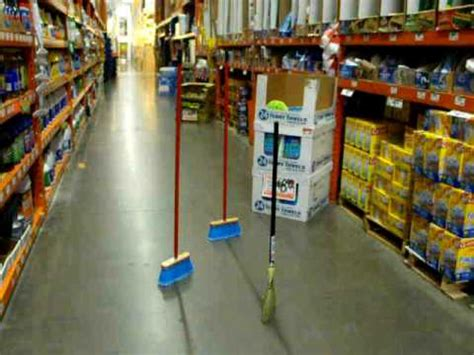 home depot standing ls 3 standing brooms at home depot