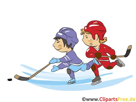 Eishockey Cartoon
