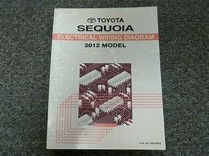 2012 Toyota Sequoia Suv Electrical Wiring Diagram Manual Sr5 Limited Platinum