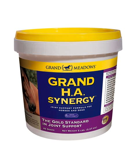 grand joint supplements horse joints synergy complete supplement ha meadows hoof