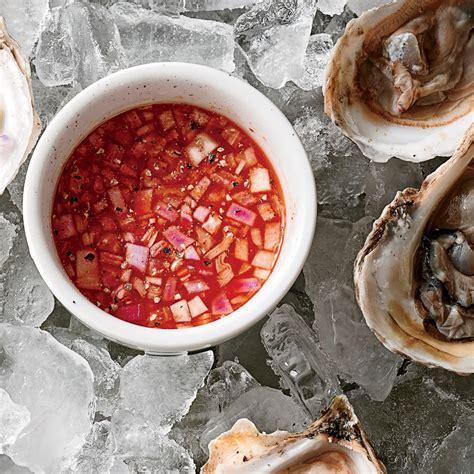mignonette cuisine 3 mignonette sauces for oysters coastal living
