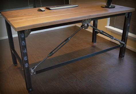 industrial desk industrial executive desk by urbanindustrialworks on etsy