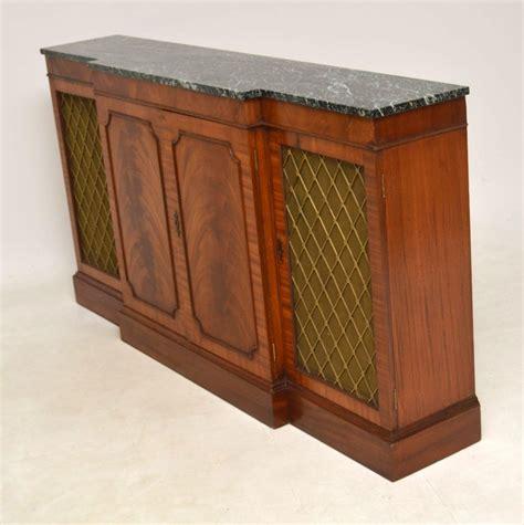Marble Sideboards by Antique Regency Style Marble Top Sideboard Marylebone