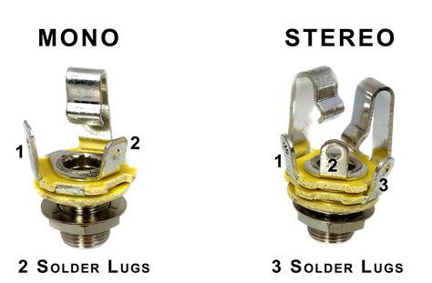 Wiring Mono Stereo Jacks For Cigar Box Guitars Amps