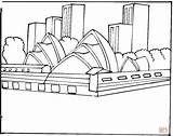 Opera Coloring Sydney Pages Drawing Colouring 8th Birthday Australia Printable Zach Drawings Harbour Designlooter Bridge Silhouettes Dot Paper Printables Building sketch template