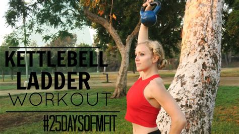 kettlebell ladder workout