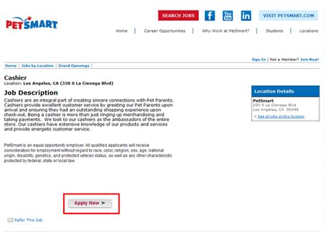 how to apply for petsmart at careers petsmart