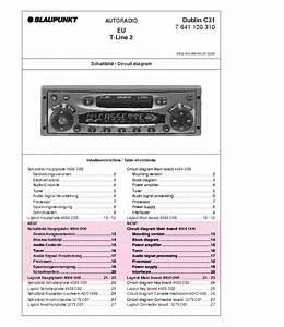 Blaupunkt Dublin C31 Service Manual Download  Schematics