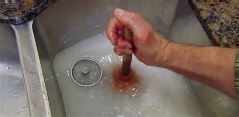 Unclog Bathtub Drain With Plunger by How To Unclog A Sink Drain Fast Today S Homeowner