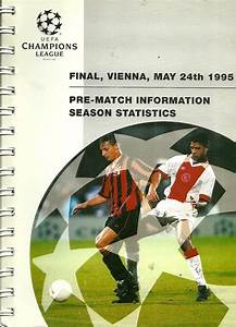 Soccer - Ajax Amestrdam v AC Milan 1995 UEFA Champions ...