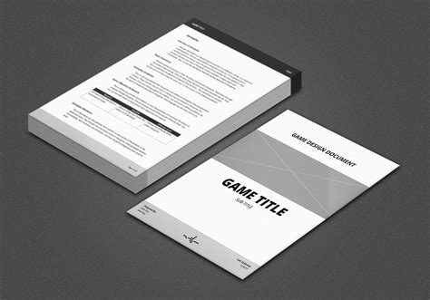 comments game design document gdd template  vitalzigns