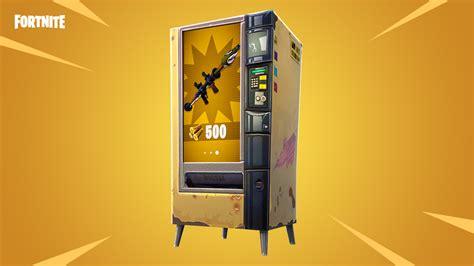 fortnite  vending machine locations vg