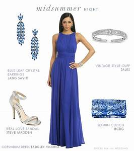 Blue formal dress for a wedding guest for Formal dress for wedding guest