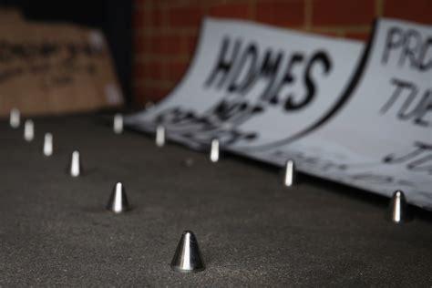 hostile architecture  spike   worlds homeless