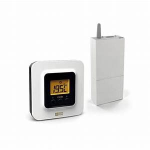 Thermostat Delta Dore Tybox 137 : tybox 5100 thermostat de zone pour tydom 4000 ou tybox 2020 wt chaudi re et pac non ~ Melissatoandfro.com Idées de Décoration