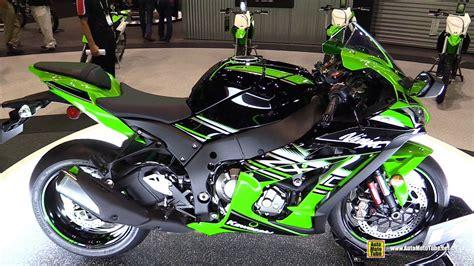 Kawasaki Zx10 R Modification by 2016 Kawasaki Zx 10r Krt Edition Walkaround