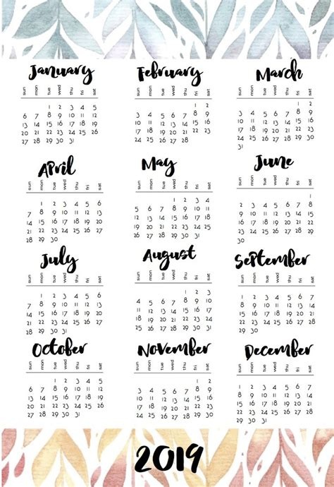calendars calender printables calendar