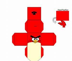 Angry Birds Red recortable NinosPekes