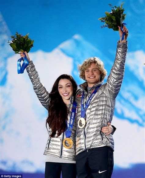 olympic ice skaters charlie white  tanith belbin marry
