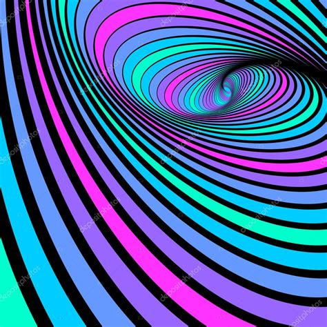 whirl spiral movement abstract color background stock
