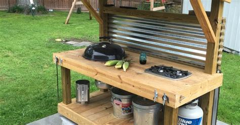 outdoor grilling station ideas grilling grill weber cooktop weber grill cart garden ideas pinterest grill station