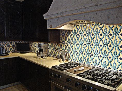 moroccan tile kitchen 17 best images about blue white tiled kitchen on 4281