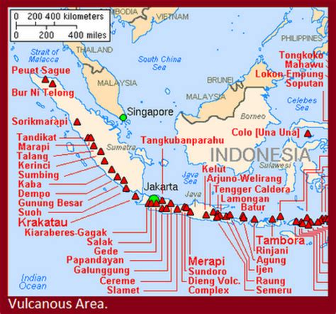 map  east java
