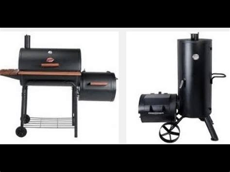charcoal smoker  youtube