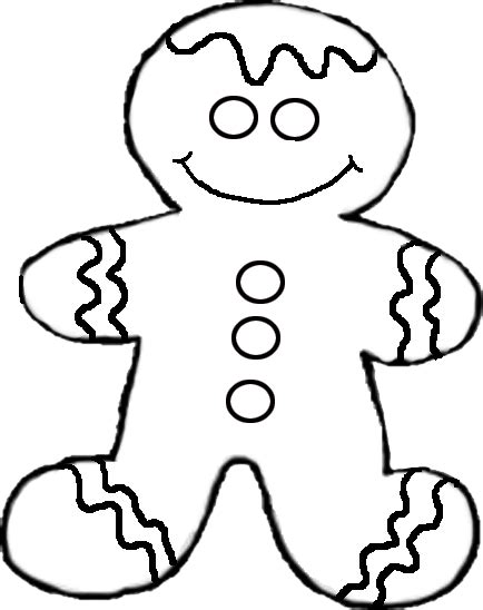 gingerbread man gingerbread men images clipart clipartix