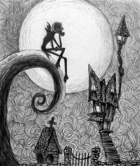 Best Nightmare Before Christmas Drawings Ideas And Images On Bing