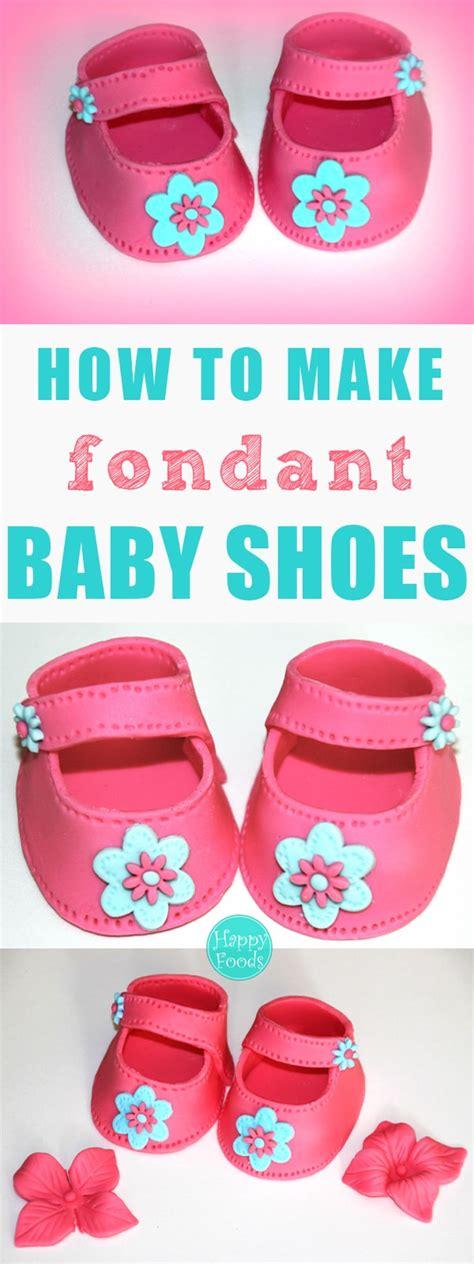 fondant baby shoes video tutorial