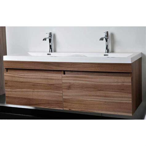 designer bathroom vanity cabinets modern bathroom vanity set with wavy sinks in walnut tn