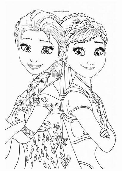 Frozen Coloring Desenhos Imprimir Colorir Elsa Disney