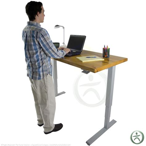 humanscale float standing desk humanscale float table solid wood top shop humanscale