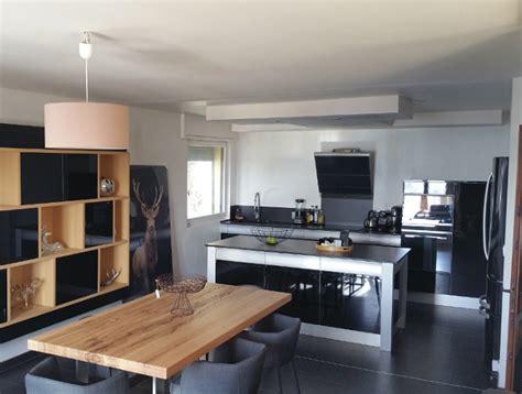 cuisine design avec ilot cuisine design avec îlot central modèle rendez vous