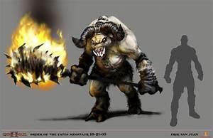 God of war-Minotaur Hades by NichtElf on DeviantArt