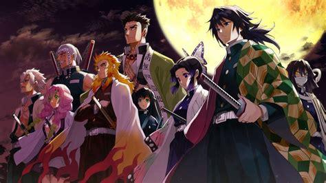 hashira  members kimetsu  yaiba characters