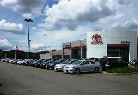 toyota dealers washington toyota of renton car dealership in renton wa 98055