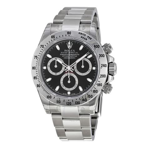 Rolex Cosmograph Daytona Automatic Black Dial Stainless ...
