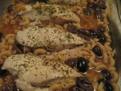 Kalamata-lemon Chicken Recipe