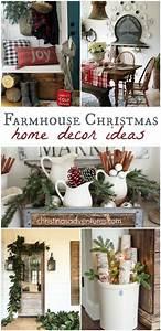 Farmhouse Christmas Decorating Ideas - Christinas Adventures