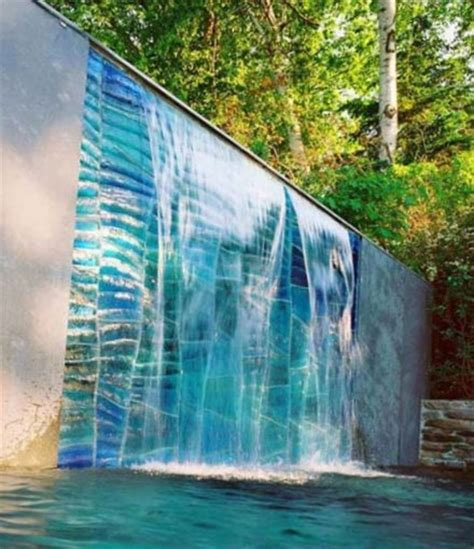 outdoor wall waterfall outdoor waterfalls wall outdoor furniture design and ideas