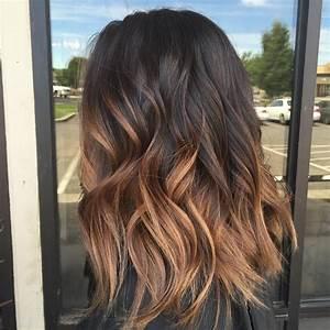 Ombré Hair Marron Caramel : 60 chocolate brown hair color ideas for brunettes hair ~ Farleysfitness.com Idées de Décoration