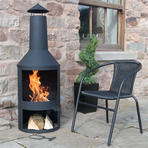 Large Chiminea by Large Clay Chiminea Outdoor Fireplace Randolph