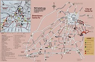 Map Of Santa Fe New Mexico - Maps Catalog Online