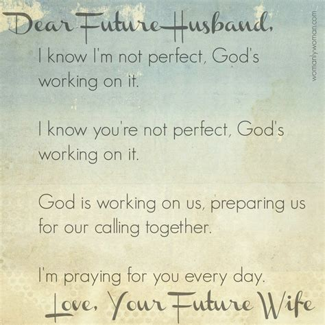 """A Prayer For My Future Husband  """"do Small Things With"""