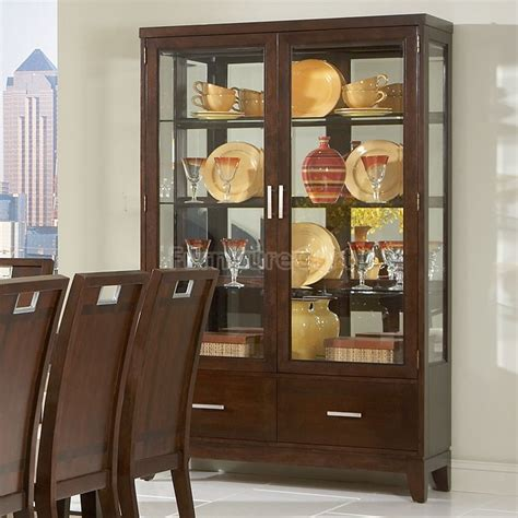 modern dining room sets with china cabinet furniture gt dining room furniture gt china cabinet gt brown