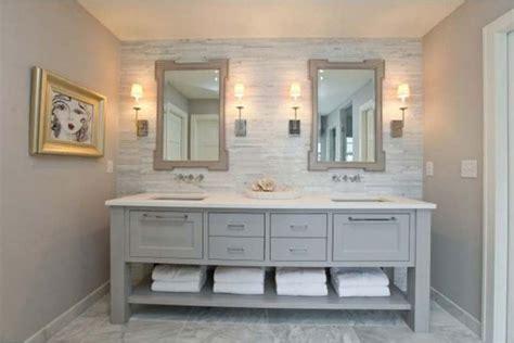 Grey Bathroom Vanity, Photo