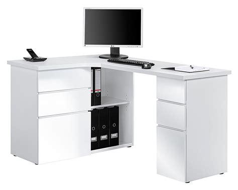 bureau simple blanc bureau d angle petit bureau d angle modulable lepolyglotte