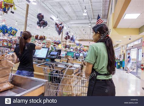 Customer 1st Clerk by Ocala Florida Publix Grocery Store Supermarket Checkout